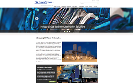 PW Power Systems Corporate Site