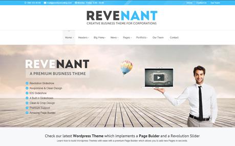 Revenant - Corporate Theme