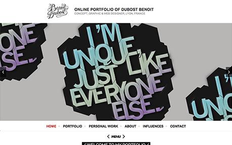 ONLINE PORTFOLIO OF DUBOST BENOIT