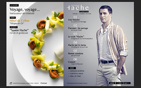 Christopher Hache Official Chef's Signature Website