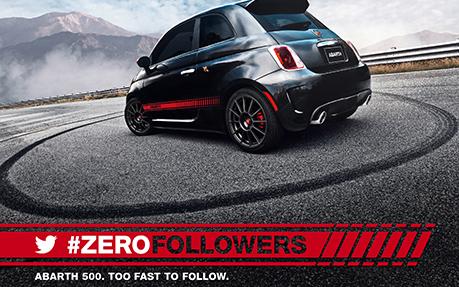 Abarth 500 #ZeroFollowers