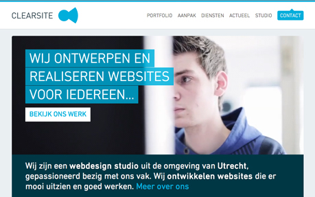 Clearsite Webdesign Utrecht
