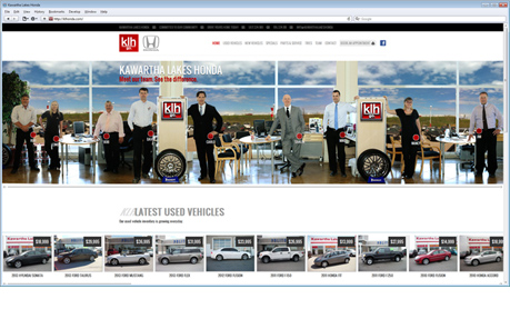 Kawartha Lakes Honda >> Kawartha Lakes Honda Awwwards Nominee