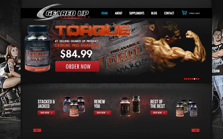 Geared Up Nutrition