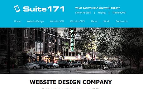 Suite 171 Web Design Fargo