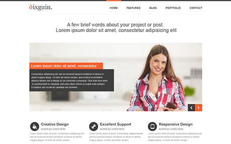 Sixguin - Responsive Portfolio & Blog Theme