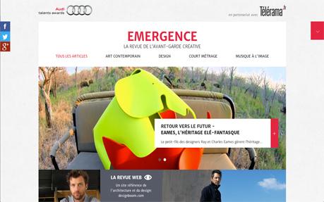 Emergence, avant-garde magazine