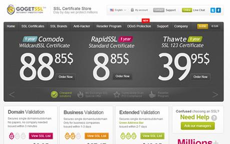 GoGetSSL.com - SSL Provider