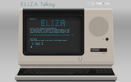 E.L.I.Z.A. Talking