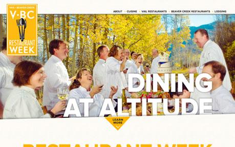 Vail • Beaver Creek Restaurant Week