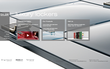 Celare Luxury lockers