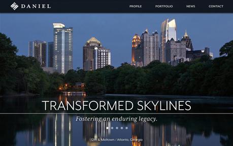 Daniel Corporate Site