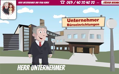 Herr Unternehmer & Frau Kunde