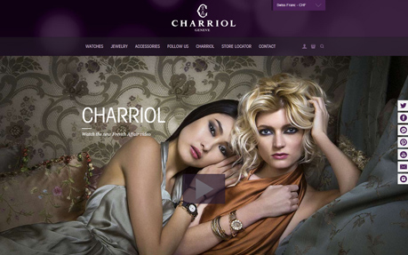 Charriol - Swiss Watches, Jewelry, fashion accessories