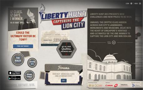 Liberty Hunt 2013
