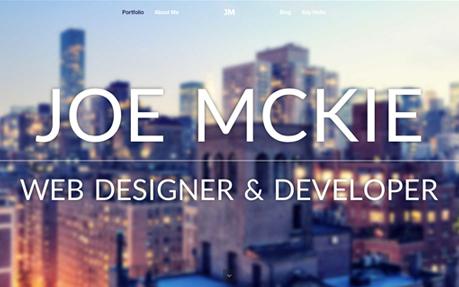 Joe McKie Portfolio