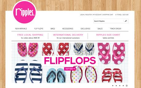 Ripples Flip Flops