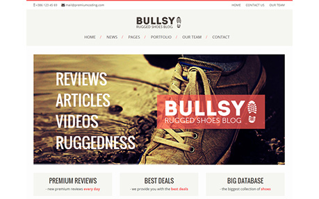 Bullsy - A Rugged Blog