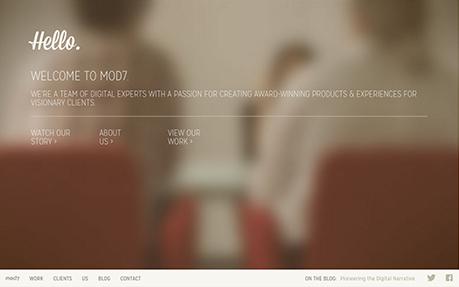 Mod7 Corporate Site