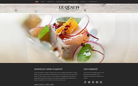Restaurant Le Quai 19 - Cuisine du marché