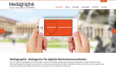 Mediagraphik Webagency Stuttgart
