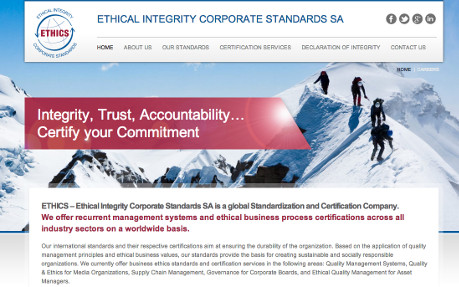 Ethics Certification