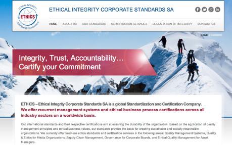 Ethics Certification