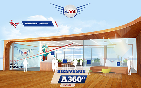 A 360° - Flying Simulator Paris Aeroville