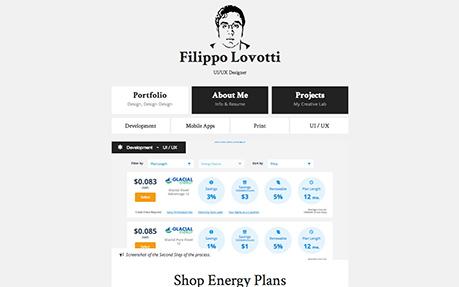 Filippo Lovotti, UI/UX Designer