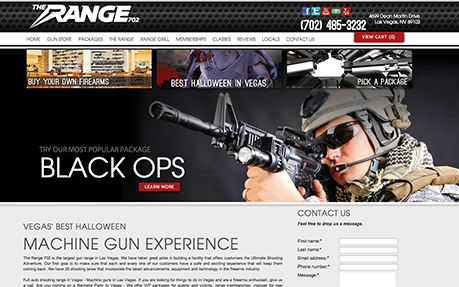 The Range 702 | Las Vegas Machine Gun Shooting Range