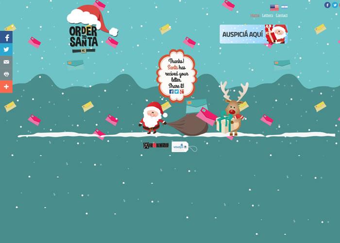 Order To Santa