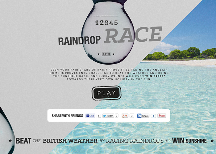 Raindrop Race