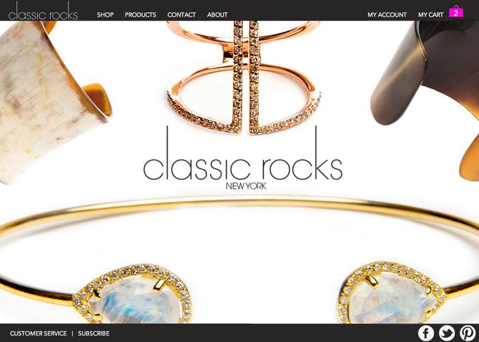 Classic Rocks - Jewelry, Handbags and Decor