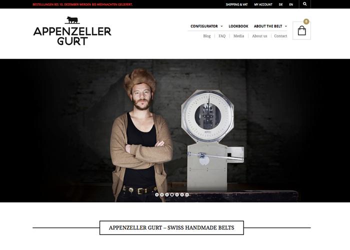 Appenzeller Gurt - Swiss Handmade Belts