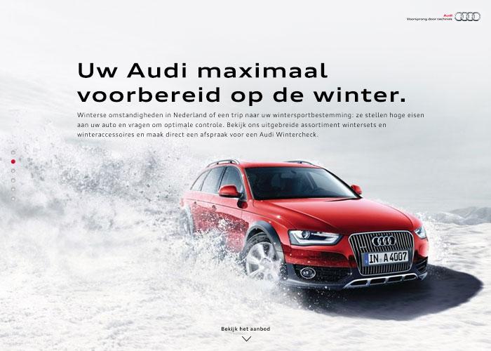 Audi Wintercheck Campaign