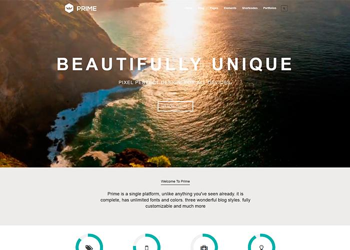 Prime - Responsive and Multipurpose WordPress Theme