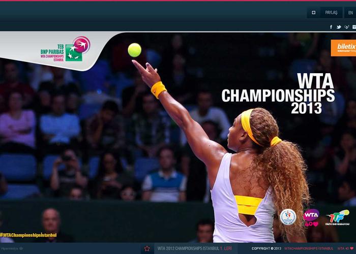 WTA 2013 CHAMPIONSHIPS ISTANBUL