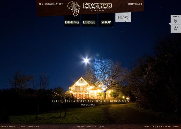 FARMERHAUS - Restaurant & Lodge