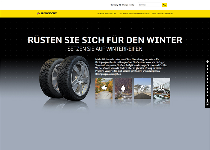Start smart with Dunlop Winter Tires