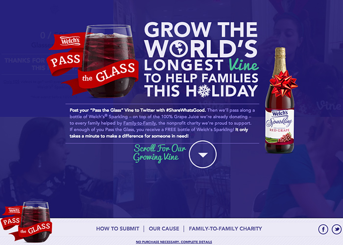 Welch's Pass The Glass
