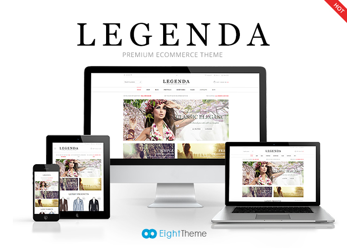 Legenda - WordPress Theme