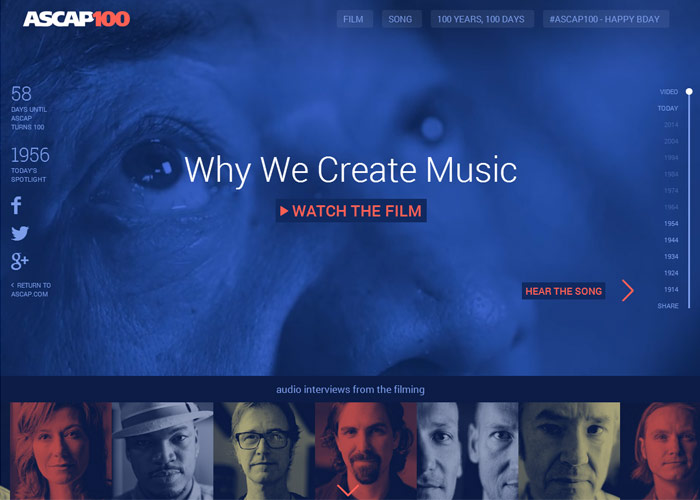 ASCAP 100 Years, 100 Days