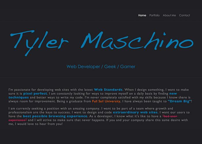 tylermaschino.com