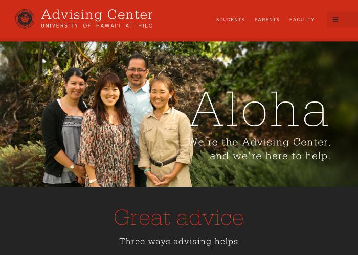 UH Hilo Advising Center