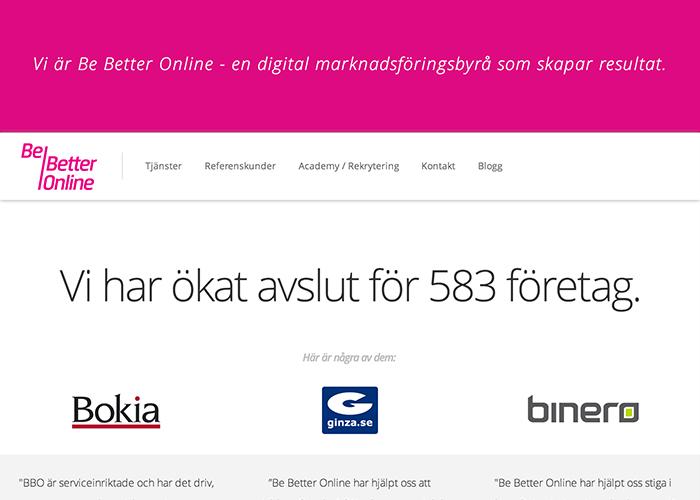 Be Better Online