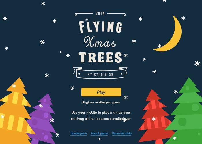 Flying X-Mas Trees