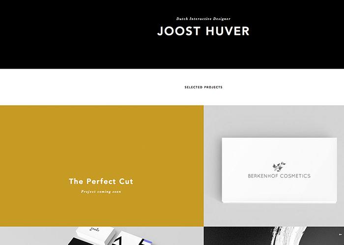 Interactive designer Joost Huver