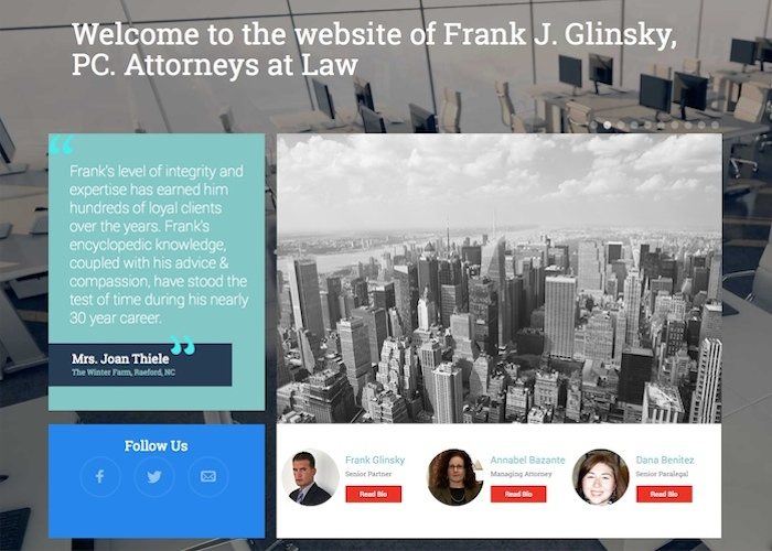 Frank J. Glinsky, PC Attorneys at Law