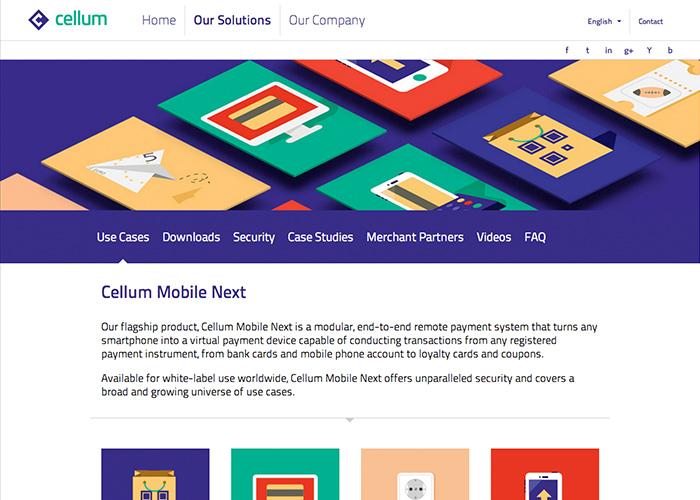 Cellum Group Website
