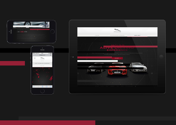 Jaguar Alive Technology Experience